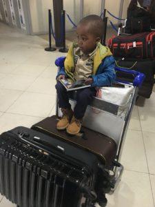 David aéroport Kigali